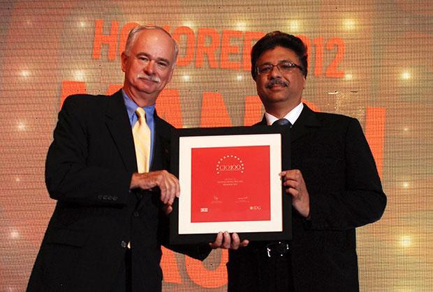 The Resilient 100: Manoj Arora, Group CIO, Bilcare receives CIO100 Award for 2012