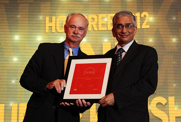 The Resilient 100: Anil Kumar Kaushik, GM-Infrastructure and Services, Bharat Petroleum (BPCL) receives the CIO100 Award for 2012