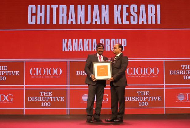The Disruptive 100: Chitranjan Kesari, Head of Information Technology, Kanakia Group receives the CIO100 Award for 2019