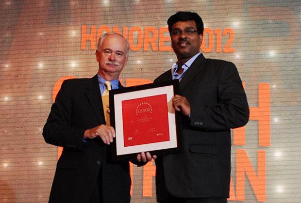 The Resilient 100: Sudesh Puthran, CIO And EVP [Operations] of company receives the CIO100 Award for 2012