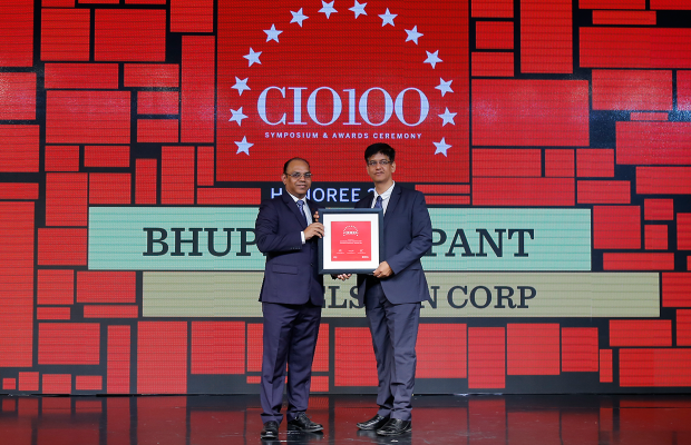 The Digital Architect: Bhupendra Pant, VP & CIO, Welspun Corp receives the CIO100 Award for 2018