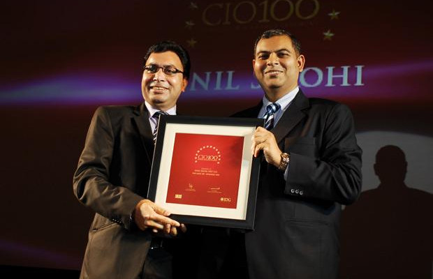 The Agile 100: Sunil Sirohi, Sr. VP - IT of NIIT receives the CIO100 Award for 2010