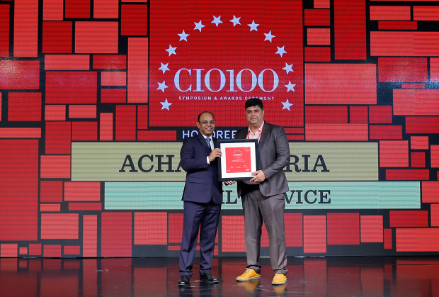 The Digital Architect: Achal Kataria, VP & Global Head of Technology at EXL Service receives the CIO100 Award for 2018