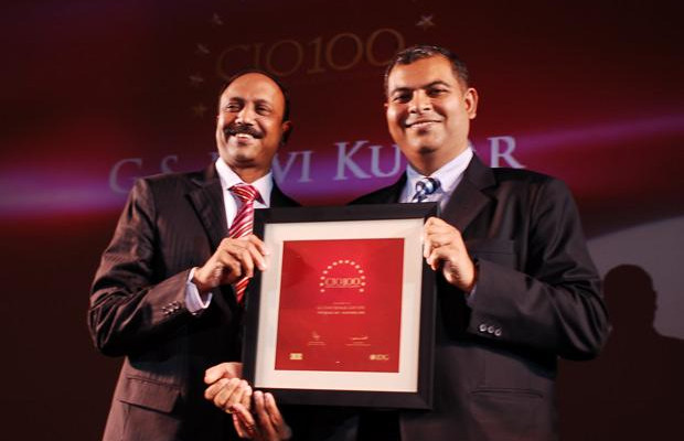 The Agile 100: G S Ravi Kumar, CIO of Gati receives the CIO100 Award for 2010