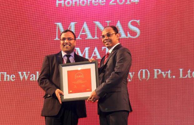 The Dynamic 100: Manas Mati, Executive Director - Technology of The Walt Disney Company receives the CIO100 Award for 2014