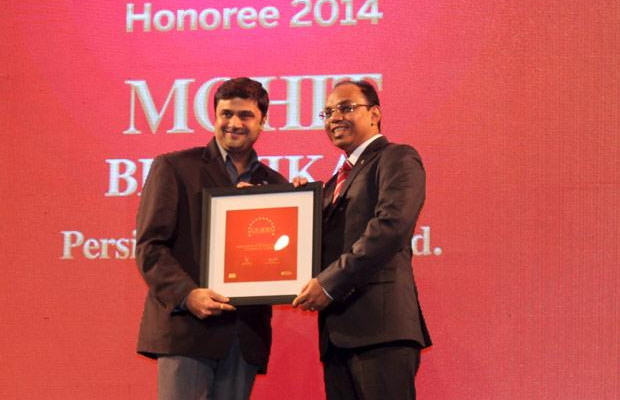The Dynamic 100: Mohit Bhishikar, CIO, Persistent Systems receives the CIO100 Award for 2014