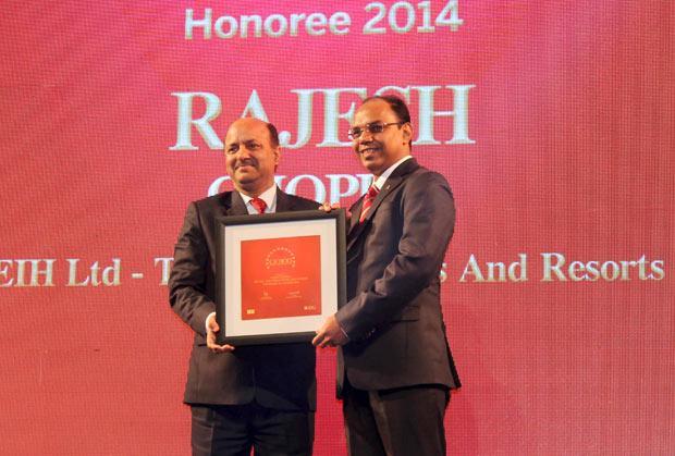 The Dynamic 100: Rajesh Chopra, Sr. VP IT of EHI- The Oberoi Hotels & Resorts receives the CIO100 Award for 2014.
