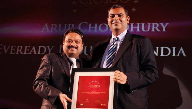 The Agile 100: Arup Choudhury, CIO of Eveready Industries India receives the CIO100 Award for 2010