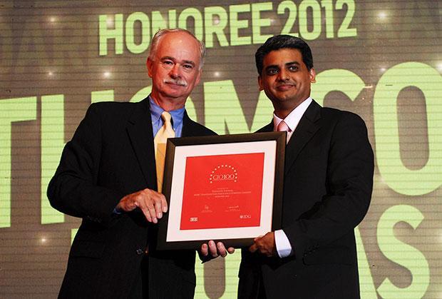 The Resilient 100: Thomson Thomas, CIO of HDFC Life Insurance Co receives the CIO100 Award for 2012