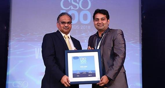 Vishal Kumar Singh, Associate VP of FCB India receives CSO100 Award for 2018