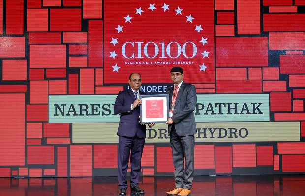 The Digital Architect: Naresh Kumar Pathak, Regional CIO - India/South East Asia, Andritz Hydro, receives the CIO100 award for 2018