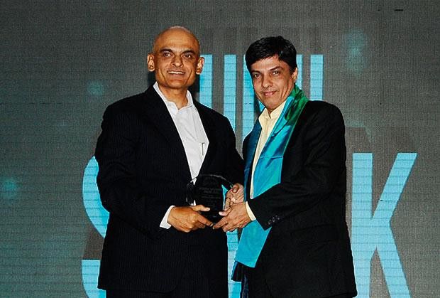 Efficient Enterprise: Sunil Sevak, Dy. Head- Enterprise IT Infrastructure of Larsen & Toubro (L&T) receives the CIO100 Special Award for 2012 , constituted in association with Dell India