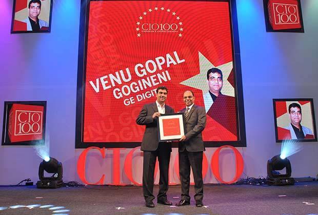 The Transformative 100: Venu Gopal Gogineni, COO-South Asia of GE Digital receives the CIO100 Award for 2016