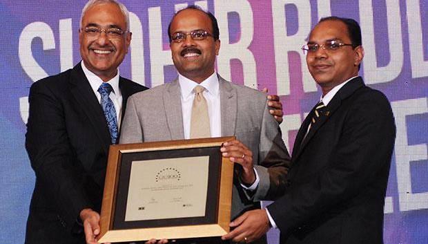 Super League: Sudhir Kumar Reddy, VP & CIO, Mindtree receives the CIO100 Special Award for 2012