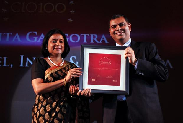 The Agile 100: Amrita Gangotra,Director-IT, Bharati Airtel receives CIO100 Award for 2010
