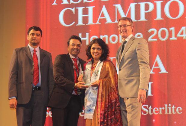 Business Assurance Champion: Neha Kini, Head-IT of Vedanta Sterlite Copper receives the CIO100 Special Award for 2014, constituted in association with Blue Coat