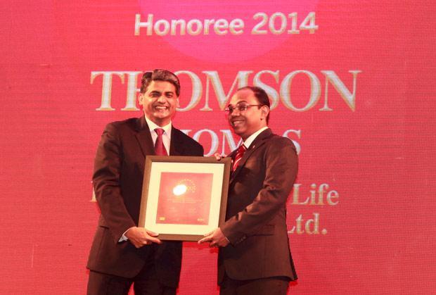 The Dynamic 100: Thomson Thomas, CIO of HDFC Life Insurance Co receives the CIO100 Award for 2014