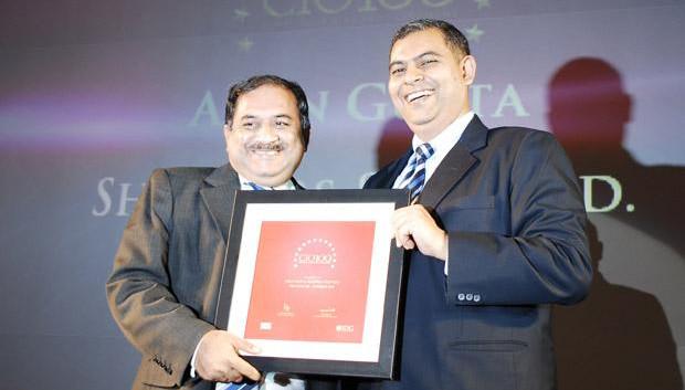The Agile 100: Arun O Gupta, Group CTO of Shoppers Stop receives the CIO100 Award for 2010