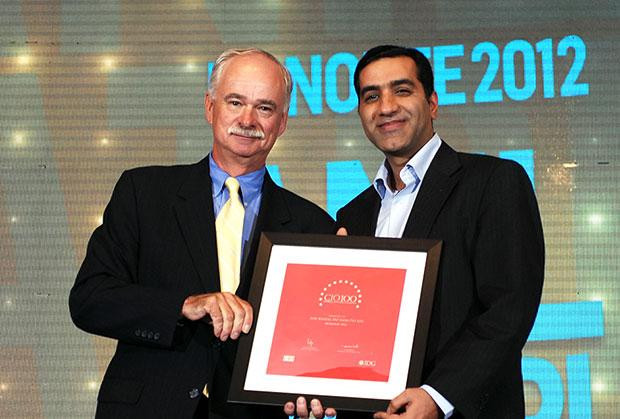 The Resilient 100: Anil Khatri, Head- IT of SAP India receives the CIO100 Award for 2012