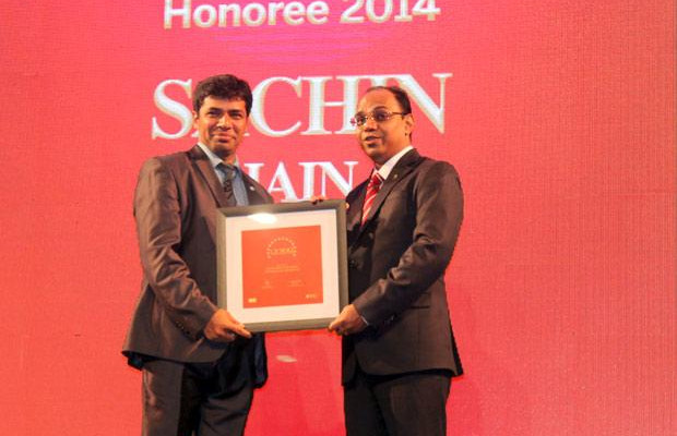 The Dynamic 100: Sachin Jain, CIO & CSO, Evalueserve receives the CIO100 Award for 2014