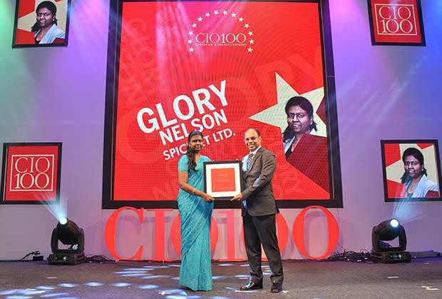 The Transformative 100: Glory Nelson, Senior VP-IT of SpiceJet receives the CIO100 Award for 2016.