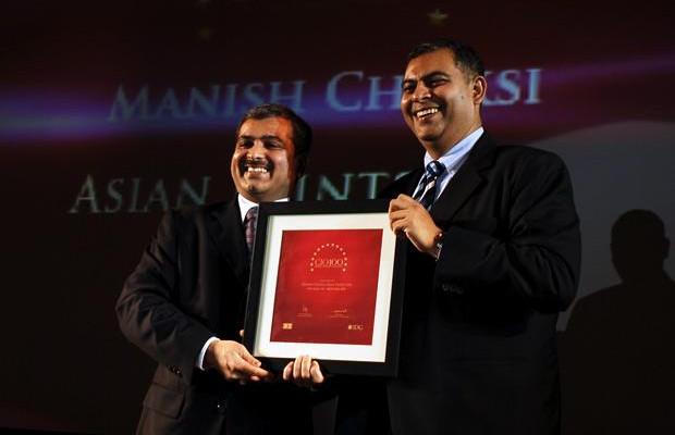 The Agile 100: Manish Choksi, President-IT of Asian Paints India receives the CIO100 Award for 2010