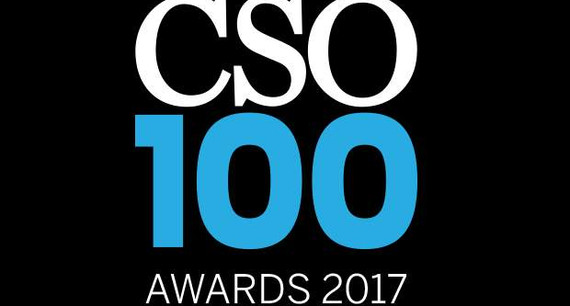 Biju K,CISO, Federal Bank felicitated with the CSO100 Award for 2017