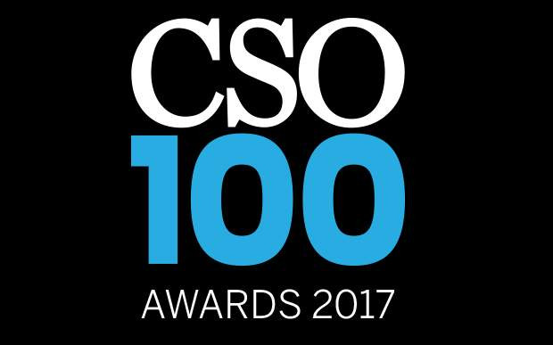 Deval Mazumdar EVP Security Solutions at Indusind Bank felicitated with the CSO100 Award for 2017