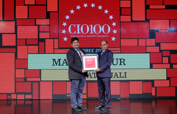 The Digital Architect: Manish Gaur, IT Head at Patanjali receives the CIO100 Award for 2018
