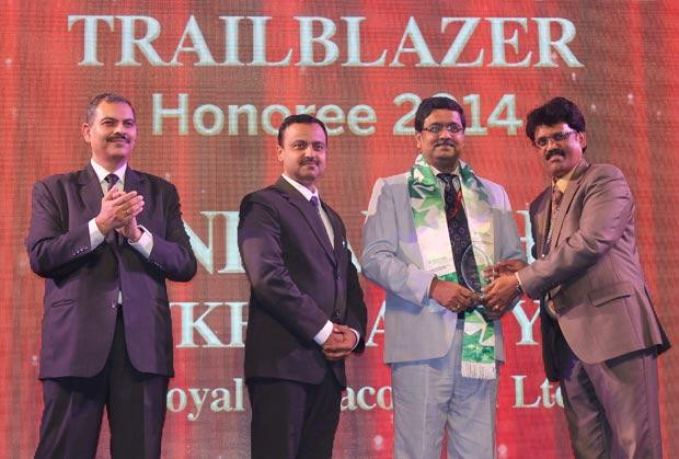 Dynamic Infrastructure Trailblazer: Anibandha Mukhopadhyay, CIO of Royal Infraconstru receives the CIO100 Special Award for 2014 , constituted in association with Schneider Electric