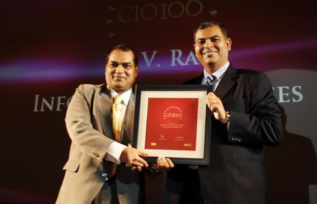 The Agile 100: B L V Rao, VP, Infotech Enterprise receives CIO100 Award for 2010