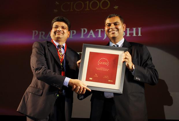 The Agile 100: Pratap Pat Joshi, GM-IT at JCB India receives the CIO100 Award for 2010