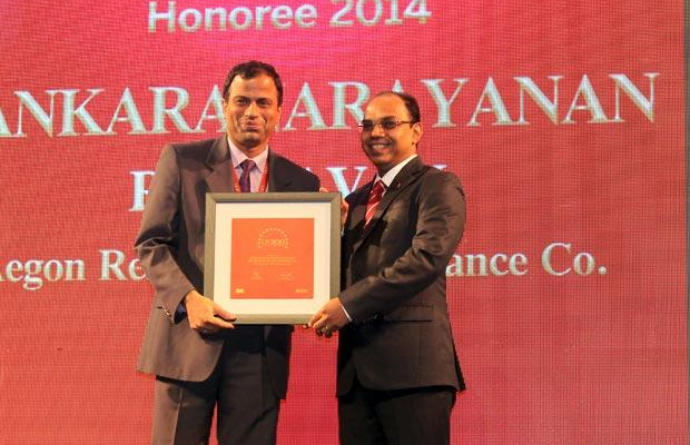 The Dynamic 100: Sankaranarayanan Raghavan, COO of Aegon Religare Life Insurance receives the CIO100 Award for 2014