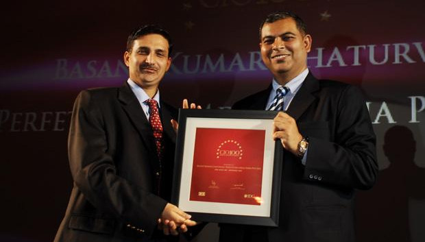 The Agile 100: Basant Kumar Chaturvedi, Controller IT of Perfetti Van Melle India receives the CIO100 Award for 2010