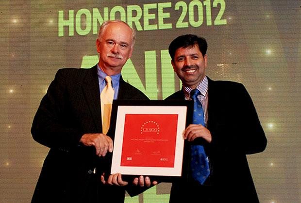The Resilient 100: Anil Kumar Veer, VP-IT, Global Head Technology and Infosec of Aricent India receives the CIO100 Award for 2012