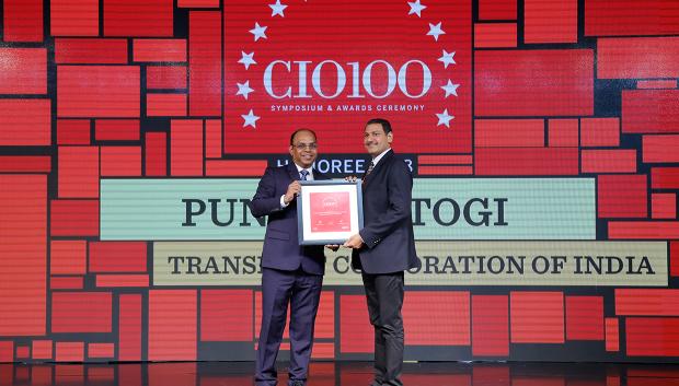 The Digital Architect: Punit Rastogi, Head-IT, Transport Corporation of India, receives the CIO100 award for 2018