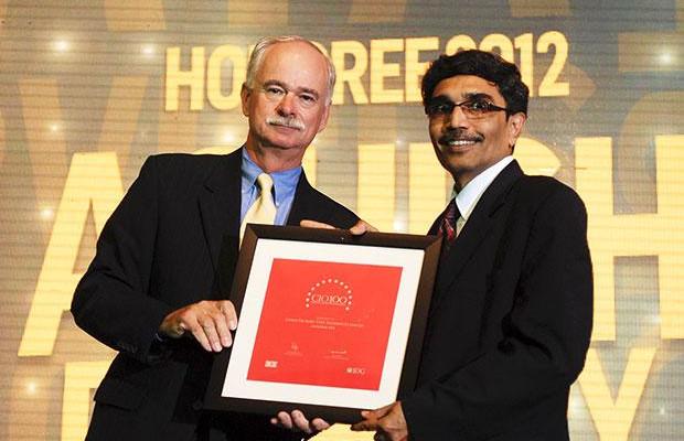 The Resilient 100: Ashish Pachory, CIO of Tata Teleservices receives the CIO100 Award for 2012