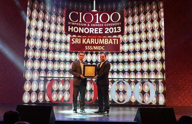 The Astute 100: Sri Karumbati, CIO of Stumpp Schuele & Somappa Springs receives the CIO100 Award for 2013