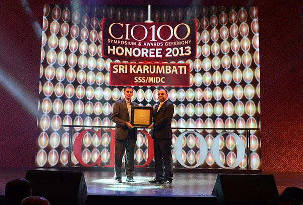 The Astute 100: Sri Karumbati, CIO of Stumpp Schuele & Somappa Springs receives the CIO100 Award for 2013