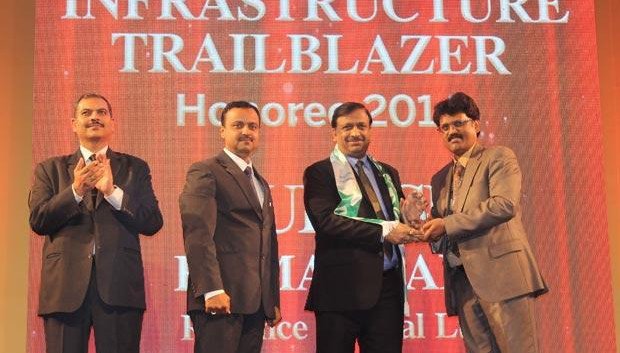 Dynamic Infrastructure Trailblazer: Mukesh Kumar Jain, Group CIO of Reliance Capital receives the CIO100 Special Award for 2014 in association with Schneider Electric
