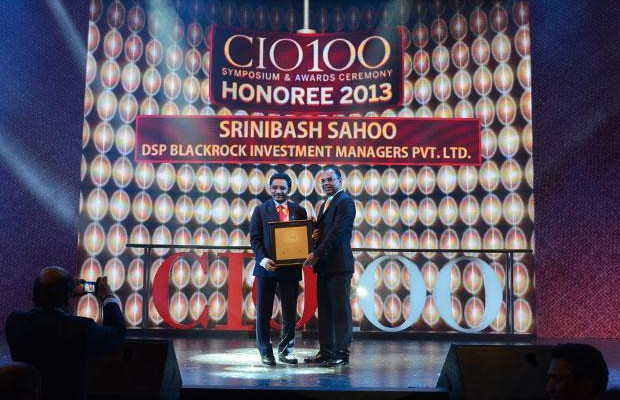 The Astute 100: Srinibash Sahoo, Senior VP & Head-Technology, DSP Blackrock Investment Managers receives the CIO100 Award for 2013