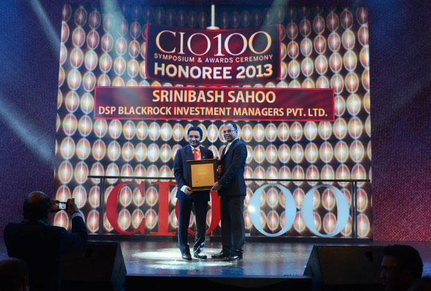 The Astute 100: Srinibash Sahoo, Senior VP & Head-Technology, DSP Blackrock Investment Managers receives the CIO100 Award for 2013