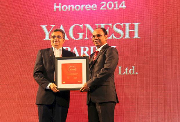 The Dynamic 100: Yagnesh Parikh, EVP and CTO at ICICI Securities receives the CIO100 Award for 2014