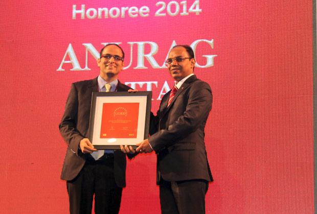 The Dynamic 100: Anurag Chottani, CIO of Bajaj Finance receives the CIO100 Award for 2014