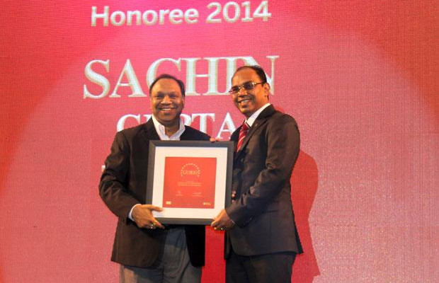 The Dynamic 100: Sachin Gupta, CIO of Bennett and Coleman Co receives the CIO100 Award for 2014