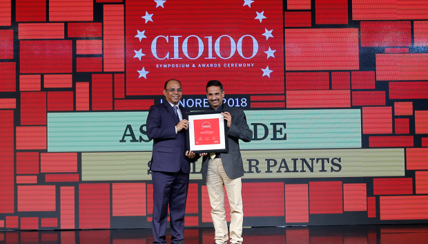 The Digital Architect: Ashok Jade, CIO at Shalimar Paints receives the CIO100 Award for 2018