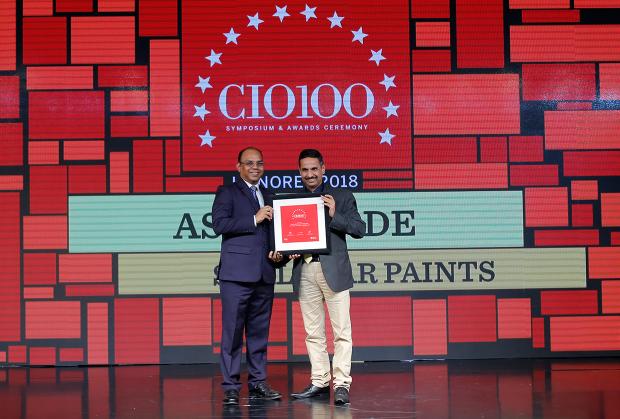 The Digital Architect: Ashok Jade, CIO at Shalimar Paints receives the CIO100 Award for 2018