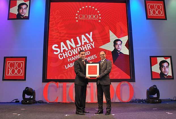 The Transformative 100: Sanjay Chowdry, CIO, Hamdard Laboratories receives the CIO100 Award for 2016