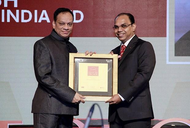 CIO of the Decade: M Suresh, Director at Hyundai Motor India receives the CIO100 Special Award for 2015
