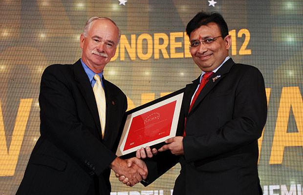 The Resilient 100: V Srinivas, CIO of Nagarjuna Fertilizers & Chemicals receives the CIO100 Award for 2012